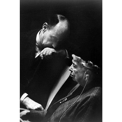 Eleanor Roosevelt and Adlai Stevenson