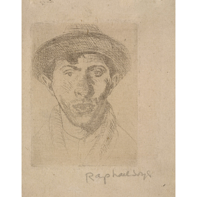 Raphael Soyer Self-Portrait
