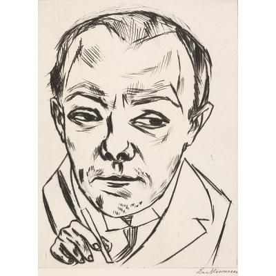 Max Beckmann Self-Portrait