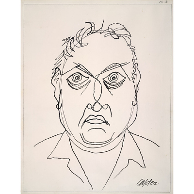 Alexander Calder Self-Portrait