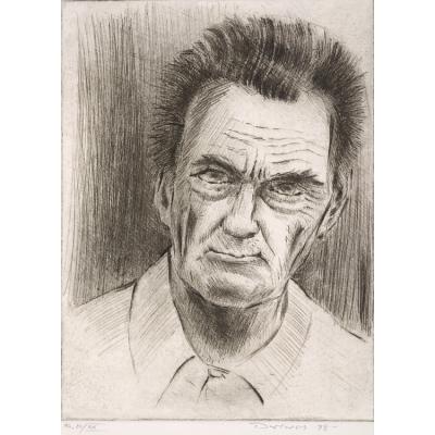 Werner Drewes Self-Portrait