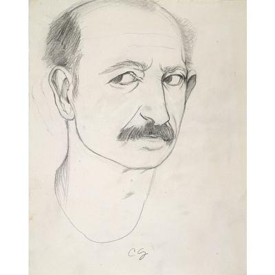 Charles Garabedian Self-Portrait