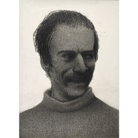Image of Gregory Gillespie Self-Portrait