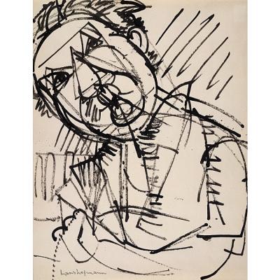 Hans Hofmann Self-Portrait