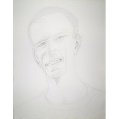 Alex Katz Self-Portrait