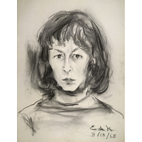 Image of Elaine de Kooning Self-Portrait