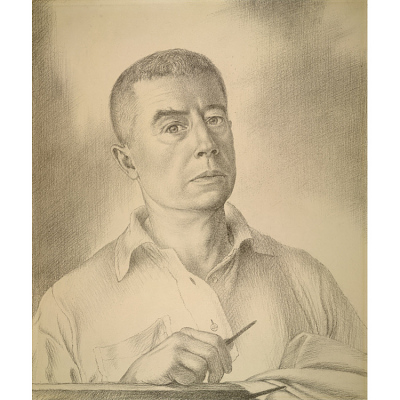 Edward Laning Self-Portrait