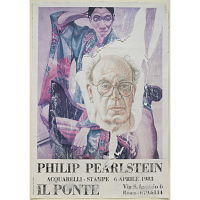 Philip Pearlstein Self-Portrait