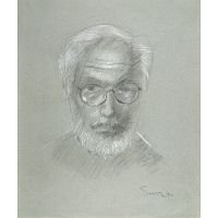 Image of Sidney Simon Self-Portrait