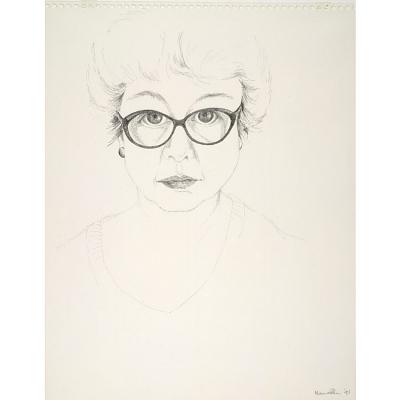 Marina Stern Self-Portrait