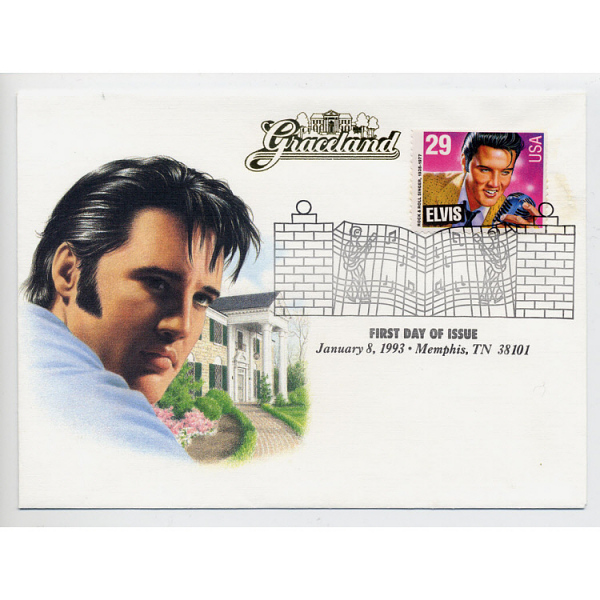 Image for Elvis Stamp, First Day Cover