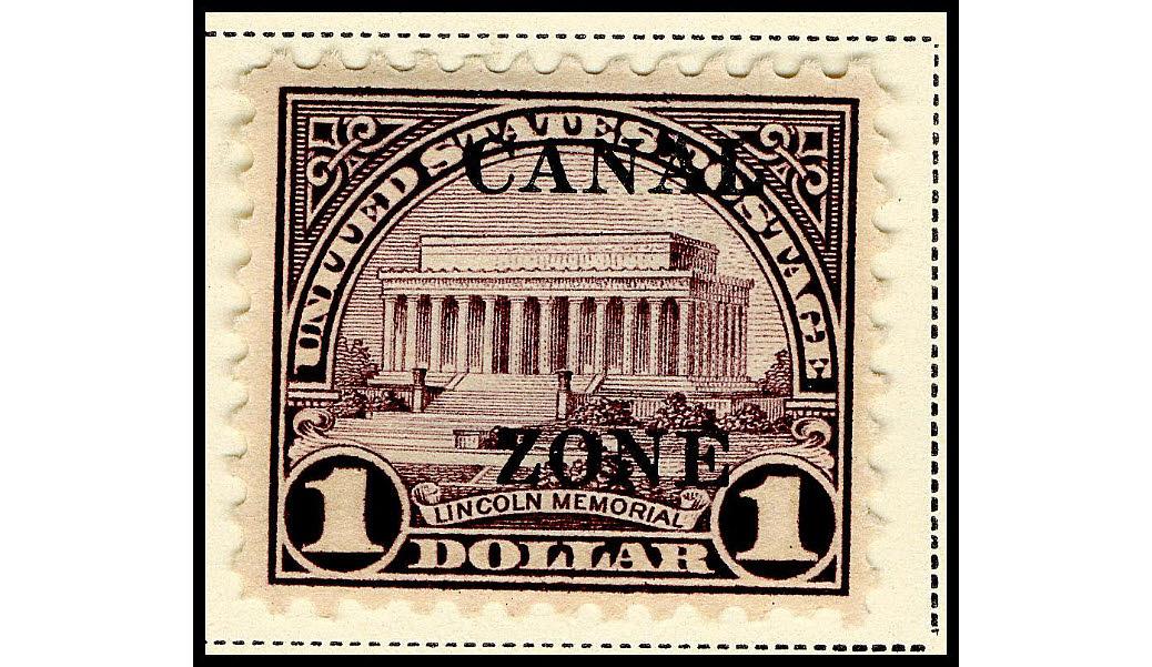 $1 Lincoln Memorial single