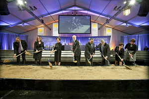 National Museum of African American History and Culture Groundbreaking, by Michael Barnes, February 22, 2012, Image ID# 2012-01472