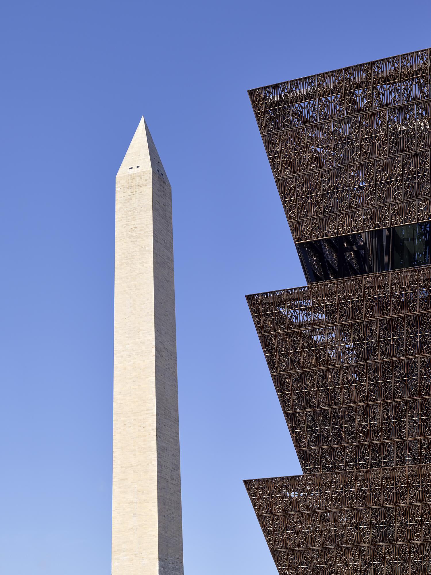 Washington Monument and NMAAHC