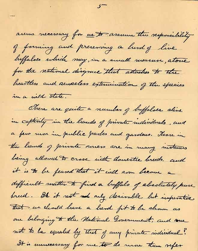 William Temple Hornaday Letter - Dec 2, 1887 - Page 5
