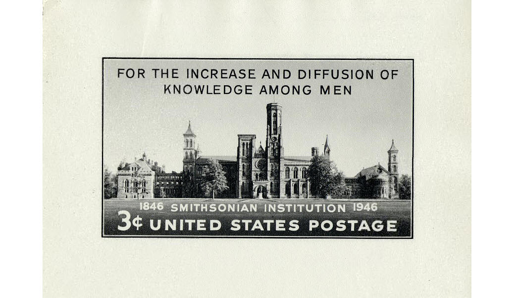 Smithsonian Institution Issue Stamp Design File
