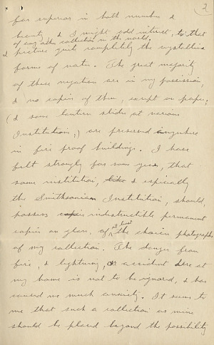 Wilson A. Bentley Letter - Dec 15, 1904 - Page 2