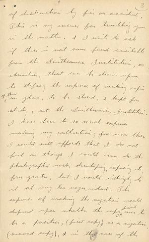 Wilson A. Bentley Letter - Dec 15, 1904 - Page 3