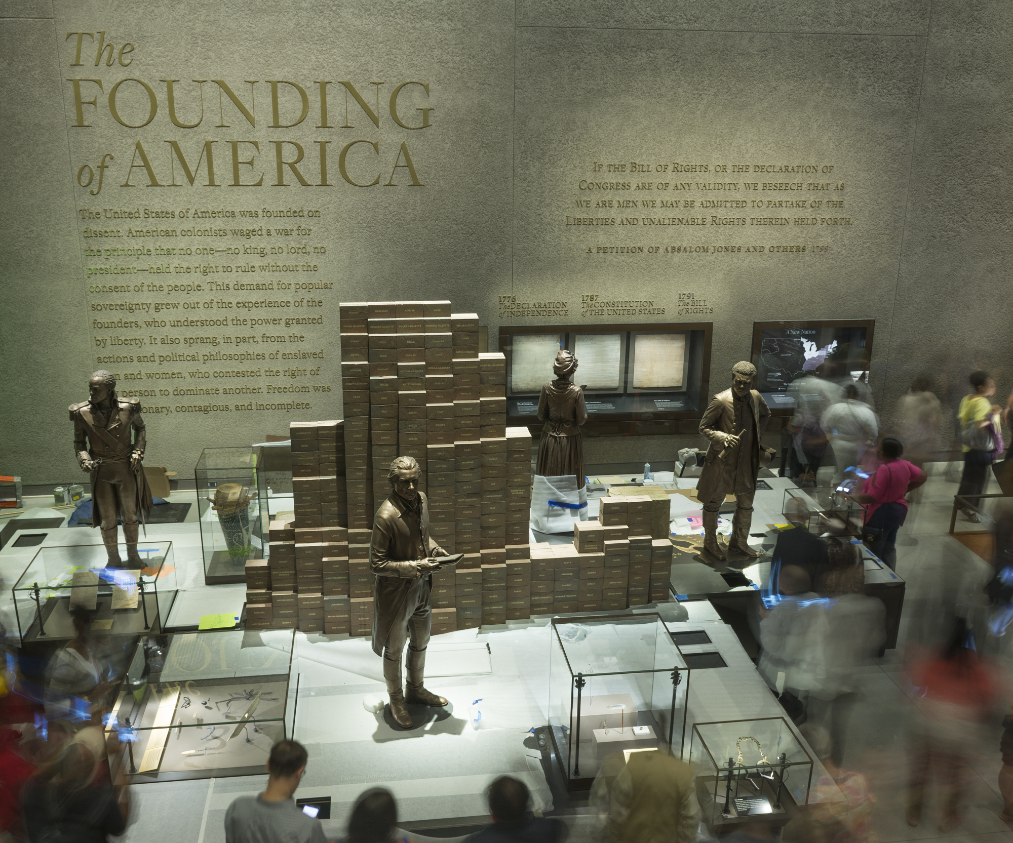 Slavery and Freedom Exhibit, NMAAHC