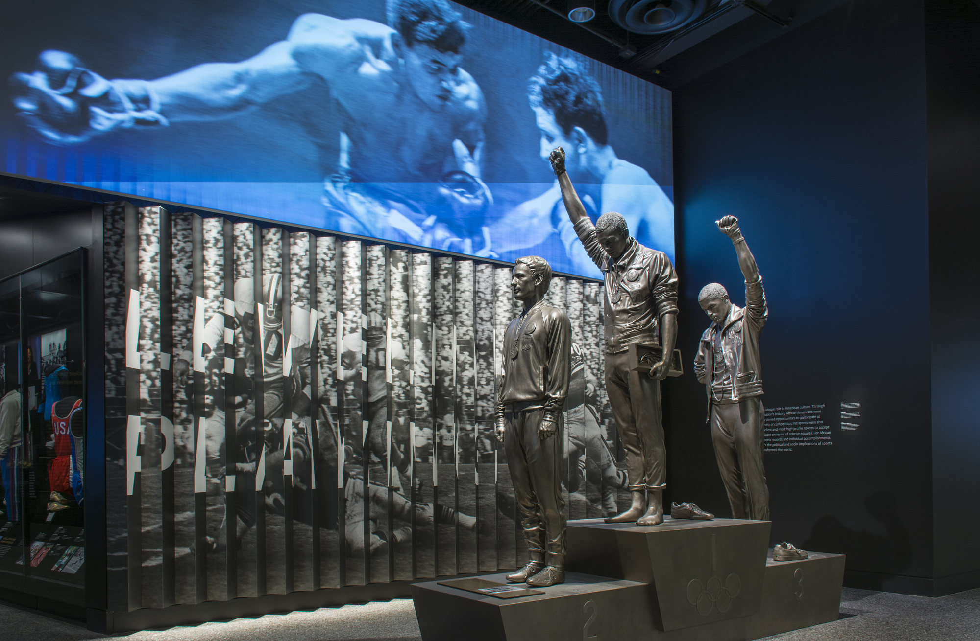 Entrance to Sports Exhibition, NMAAHC