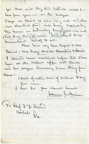 Solomon Brown Letter - Aug 12, 1862 - Page 5