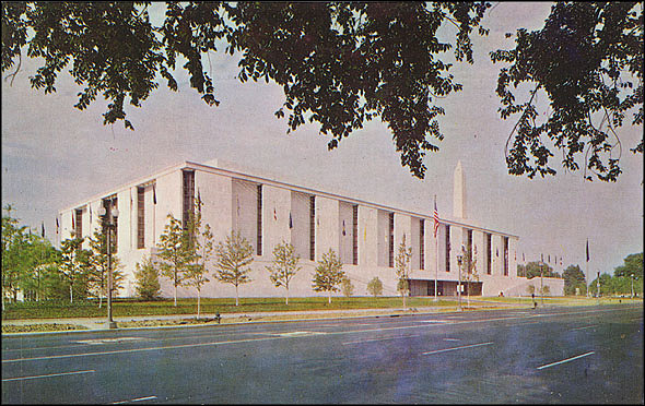 Postcard of the NMAH North Entrance