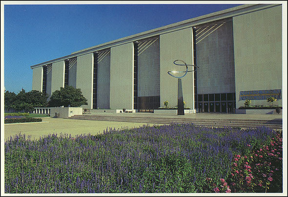 Postcard of the NMAH South Entrance