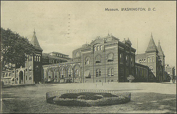 Postcard of the Museum and Garden, c. 1909, Unknown, Courtesy of a private collector, No copy available at the Smithsonian Institution Archives, ai7.jpg