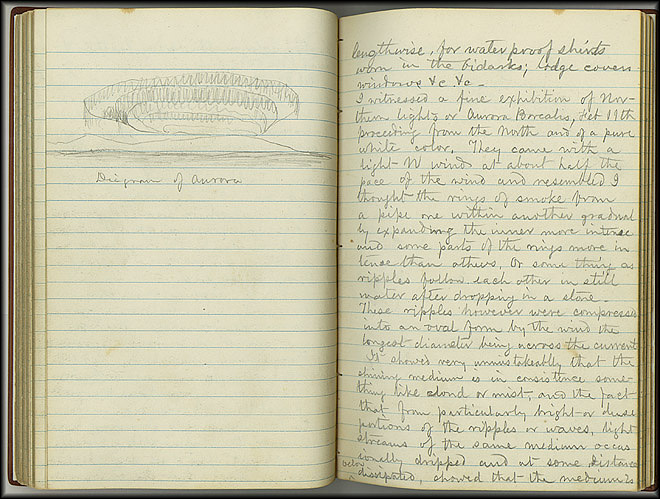 William Dall Diary, Aurora - Feb 11, 1867 - Page 1