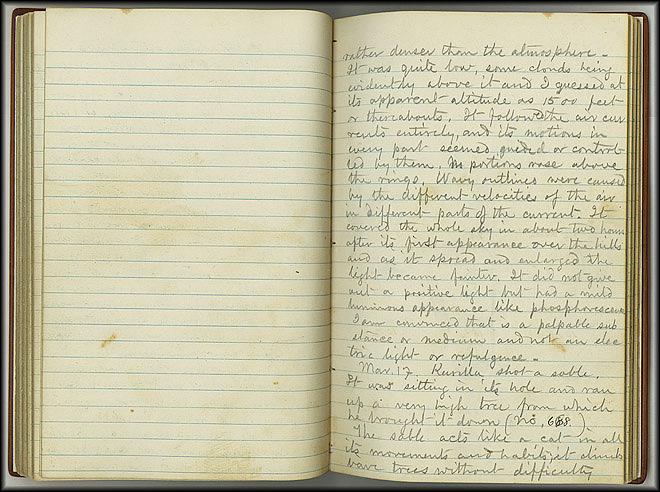 William Dall Diary, Aurora - Feb 11, 1867 - Page 2