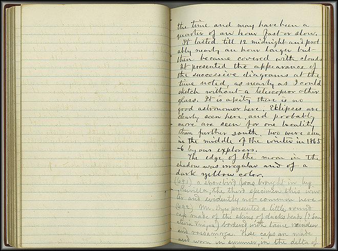 William Dall Diary, Aurora - Feb 11, 1867 - Page 4