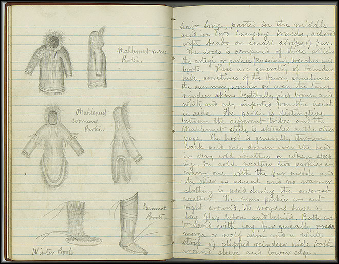 William Dall Diary, Indian Life - Oct 1866-May 1867 - Page 1