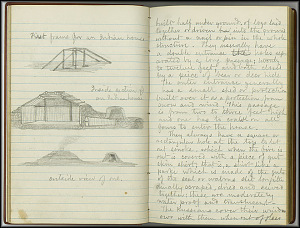 William Dall Diary, Indian Life - Oct 1866-May 1867 - Page 4