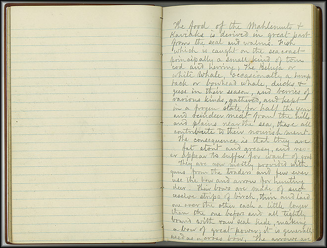 William Dall Diary, Indian Life - Oct 1866-May 1867 - Page 7