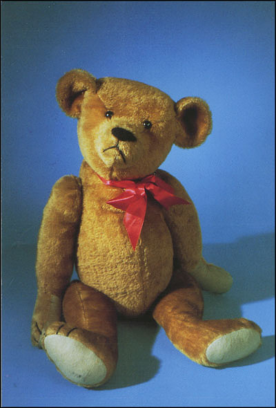 Postcard of the First Teddy Bear