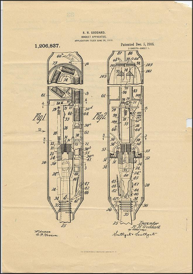 Robert Goddard Patent - Dec 15, 1916 - Page 2