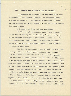 Robert Goddard Report  - March 1920 - Page 10