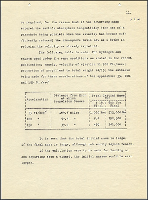 Robert Goddard Report  - March 1920 - Page 11