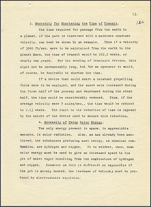 Robert Goddard Report  - March 1920 - Page 13