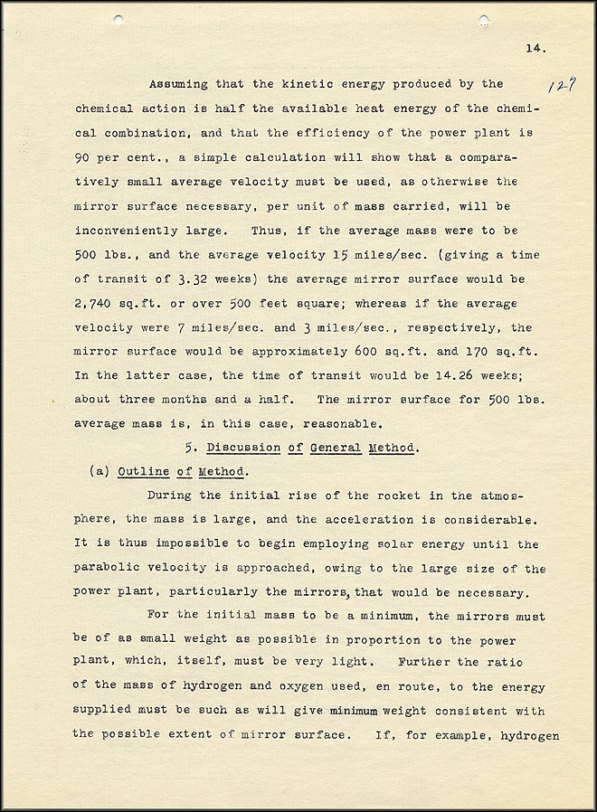 Robert Goddard Report  - March 1920 - Page 14