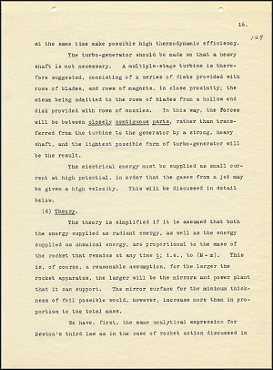Robert Goddard Report  - March 1920 - Page 16