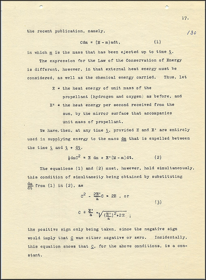 Robert Goddard Report  - March 1920 - Page 17