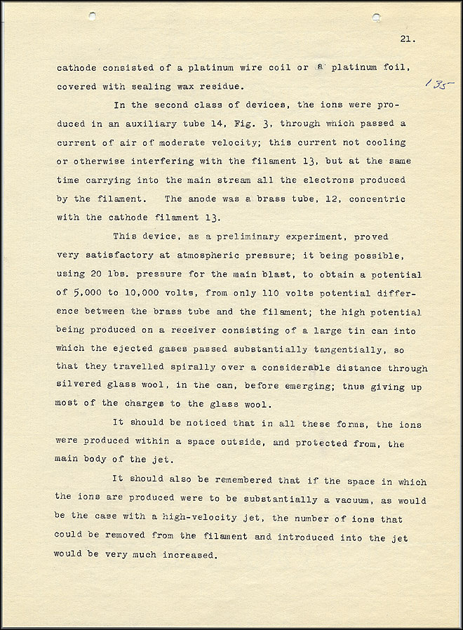 Robert Goddard Report  - March 1920 - Page 21