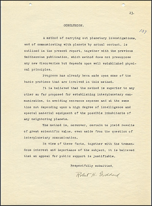 Robert Goddard Report  - March 1920 - Page 23