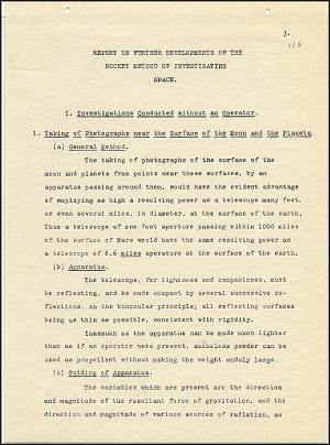 Robert Goddard Report  - March 1920 - Page 3