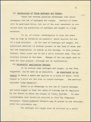 Robert Goddard Report  - March 1920 - Page 8