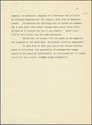 Robert Goddard Report  - March 1920 - Page 9