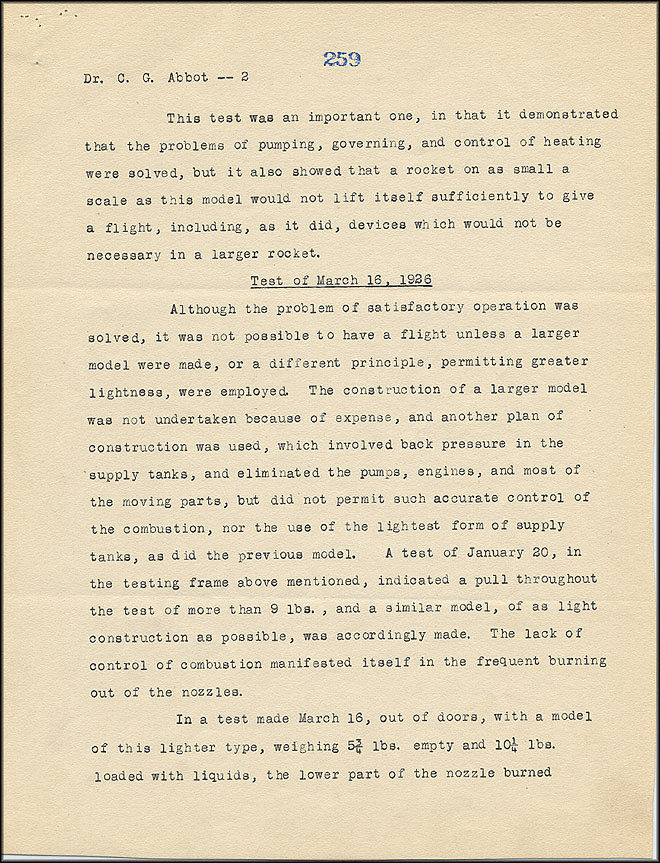 Robert Goddard Report - May 5, 1926 - Page 2