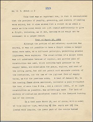 Robert Goddard Report - May 5, 1926 - Page 2
