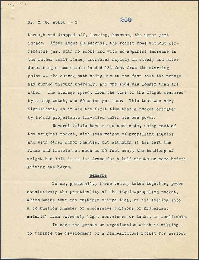 Robert Goddard Report - May 5, 1926 - Page 3